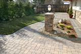 Pavers, Pillar and Landscaping